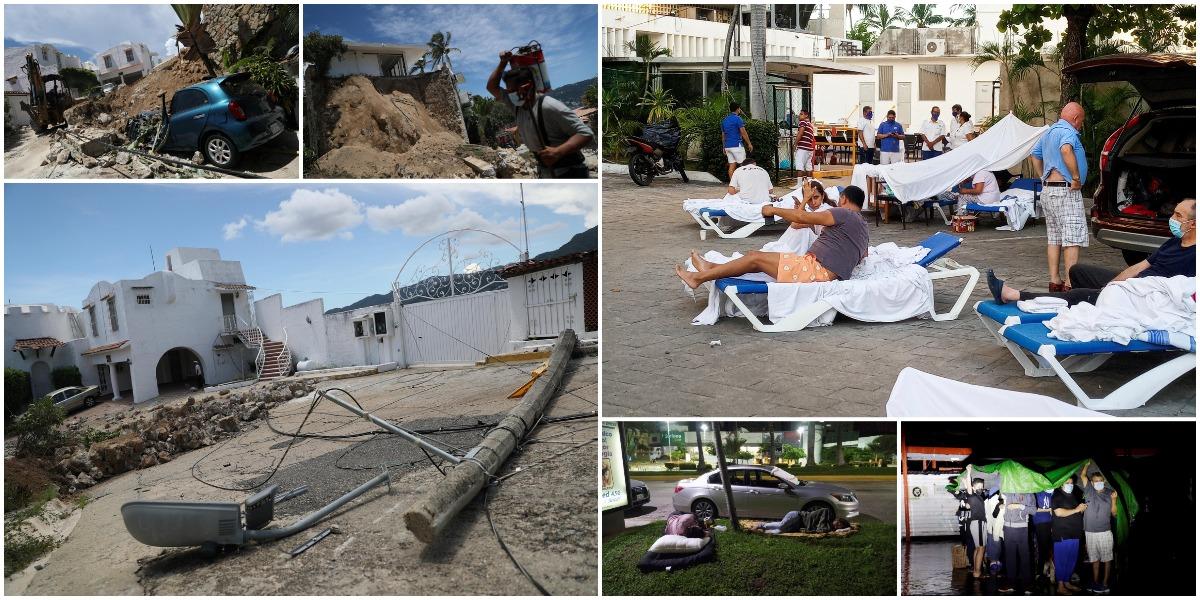 Землетрясение на юго-западе Мексики