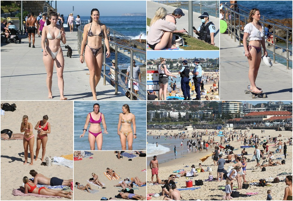 Тысячи людей отправились на пляжи по всему Сиднею, чтобы насладиться прекрасной погодой