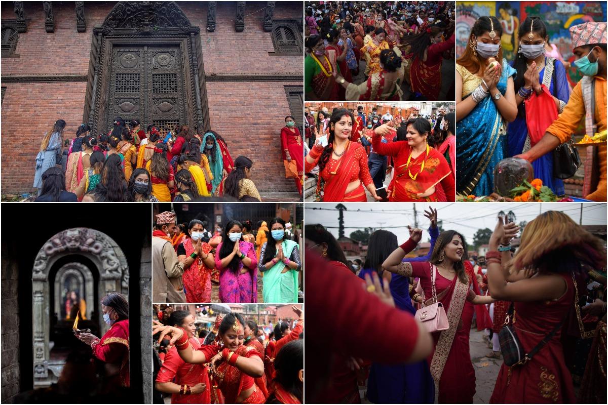 Да здравствует муж: фестиваль Teej в Непале