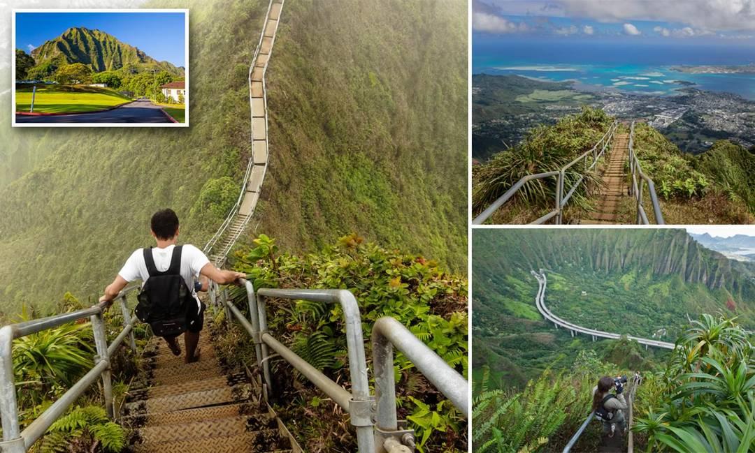Слишком опасно: совет Гонолулу решил разрушить знаменитую горную тропу