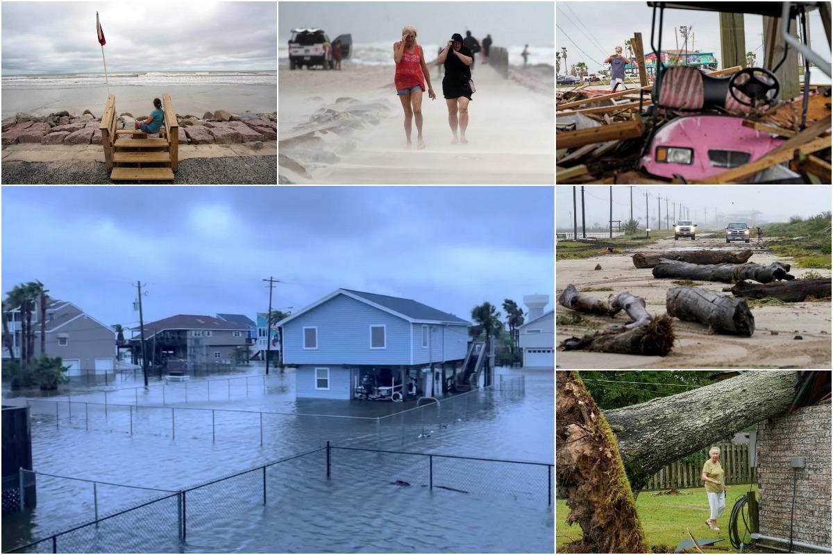 Тропический шторм «Николас» вызвал разрушения и наводнения в Техасе