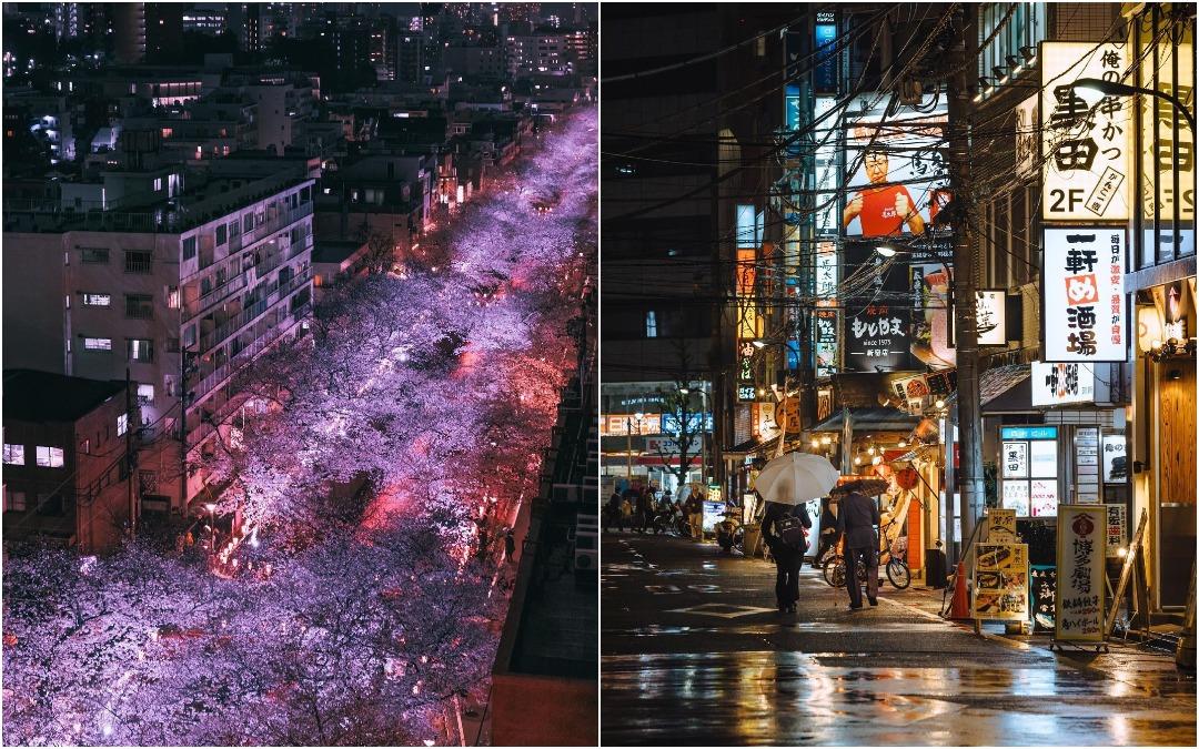Японские улицы на фотографиях Юсуке Кубота