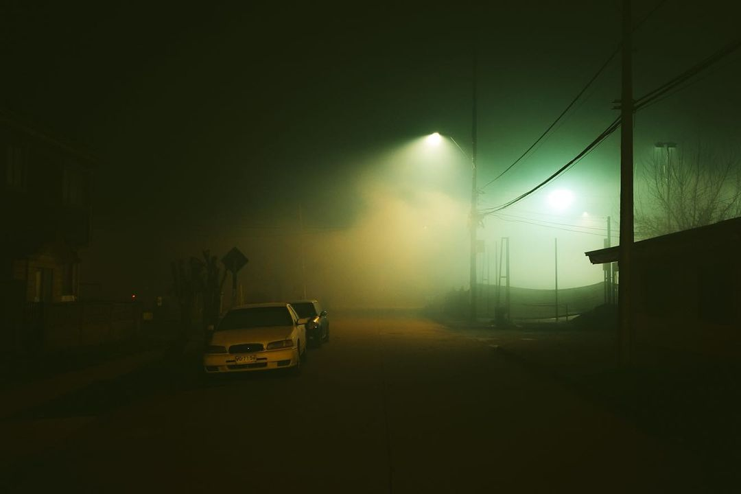Туманные улицы на снимках Фелипе ОА