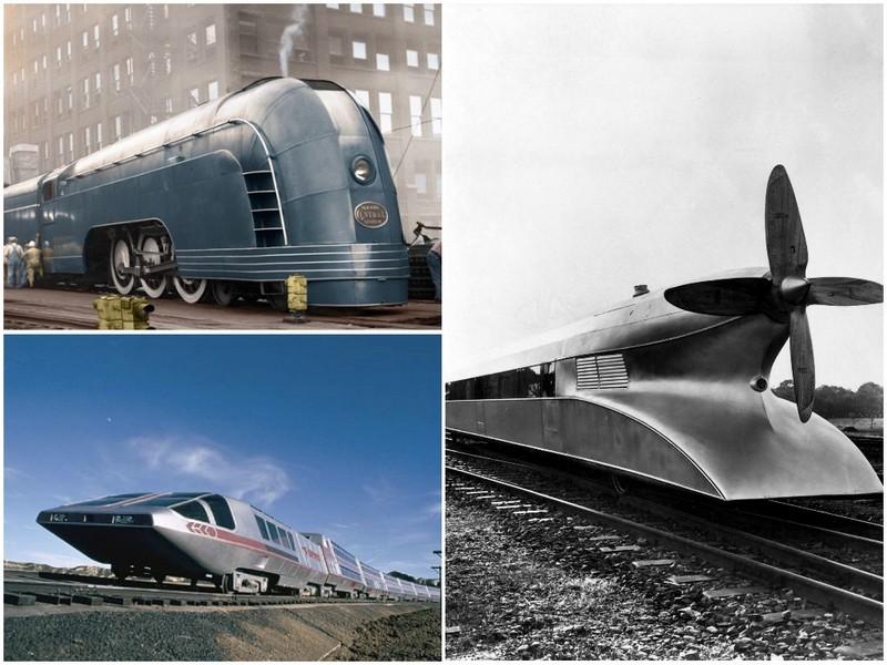 Поезда из прошлого века, оставившие след в истории