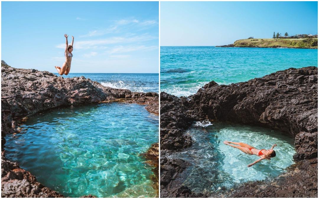 Сказочный бассейн, наполненный бирюзовой водой, всего в нескольких минутах езды от Сиднея