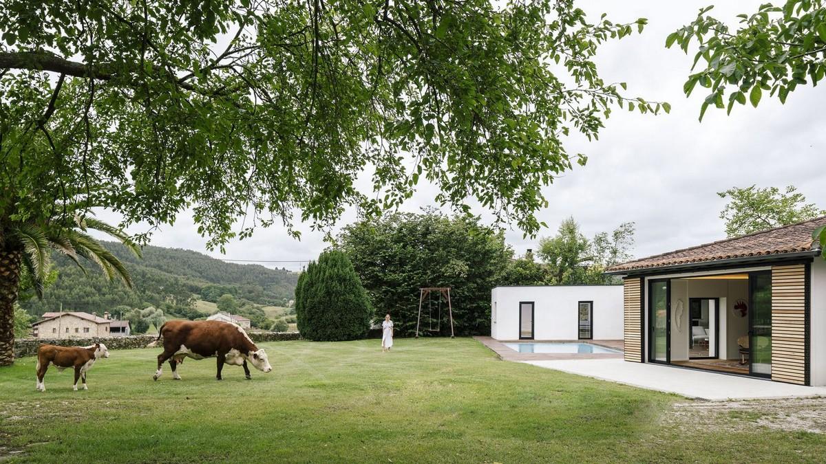 В Испании превратили конюшню в загородный дом