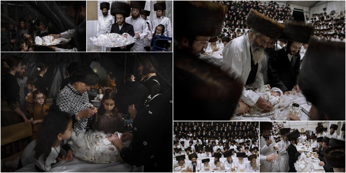 Первенца преподнесли на серебряном блюде и украсили драгоценностями на древнем еврейском празднике