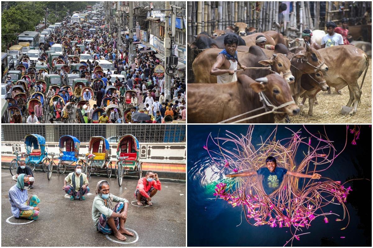 Интересные кадры из Бангладеш