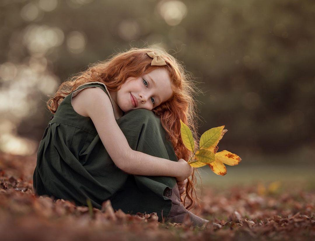Красивые снимки детишек Марии дель Валле Прессер