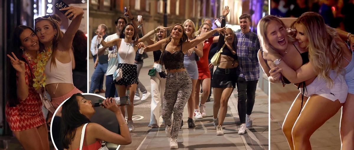Британские студенты продолжают бурно отмечать Неделю новичков