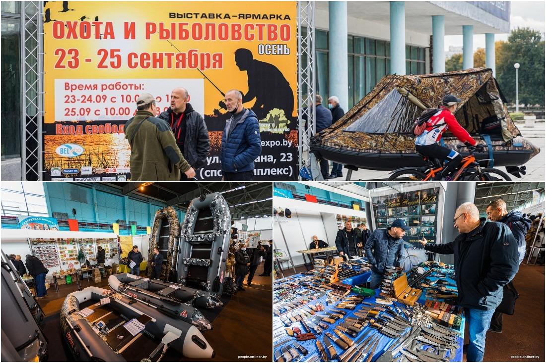 Шляпа из крокодила и мотовездеходы по цене Geely: выставка «Охота и рыболовство» в Минске
