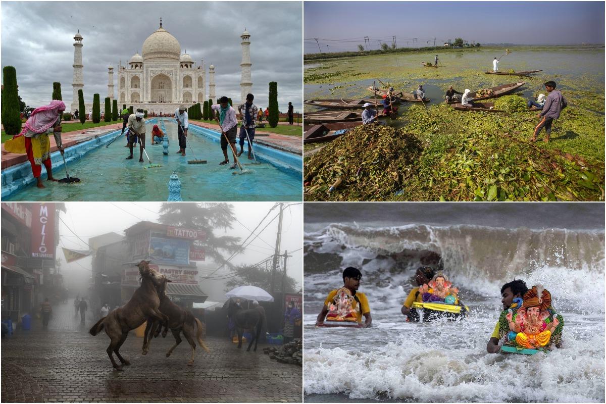 Сентябрьские снимки из Индии