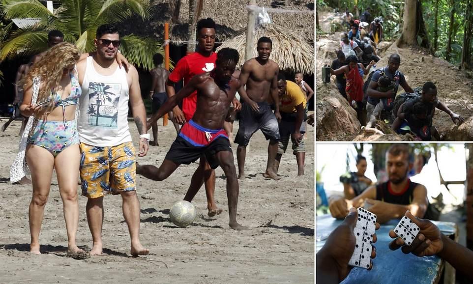 Еще 17 000 гаитян направляются в США