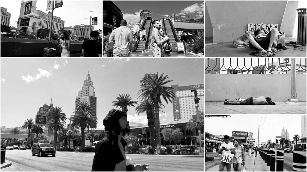 """Фотограф запечатлел """"темную сторону"""" Вегаса и истинное разделение между """"имущими и неимущими"""""""