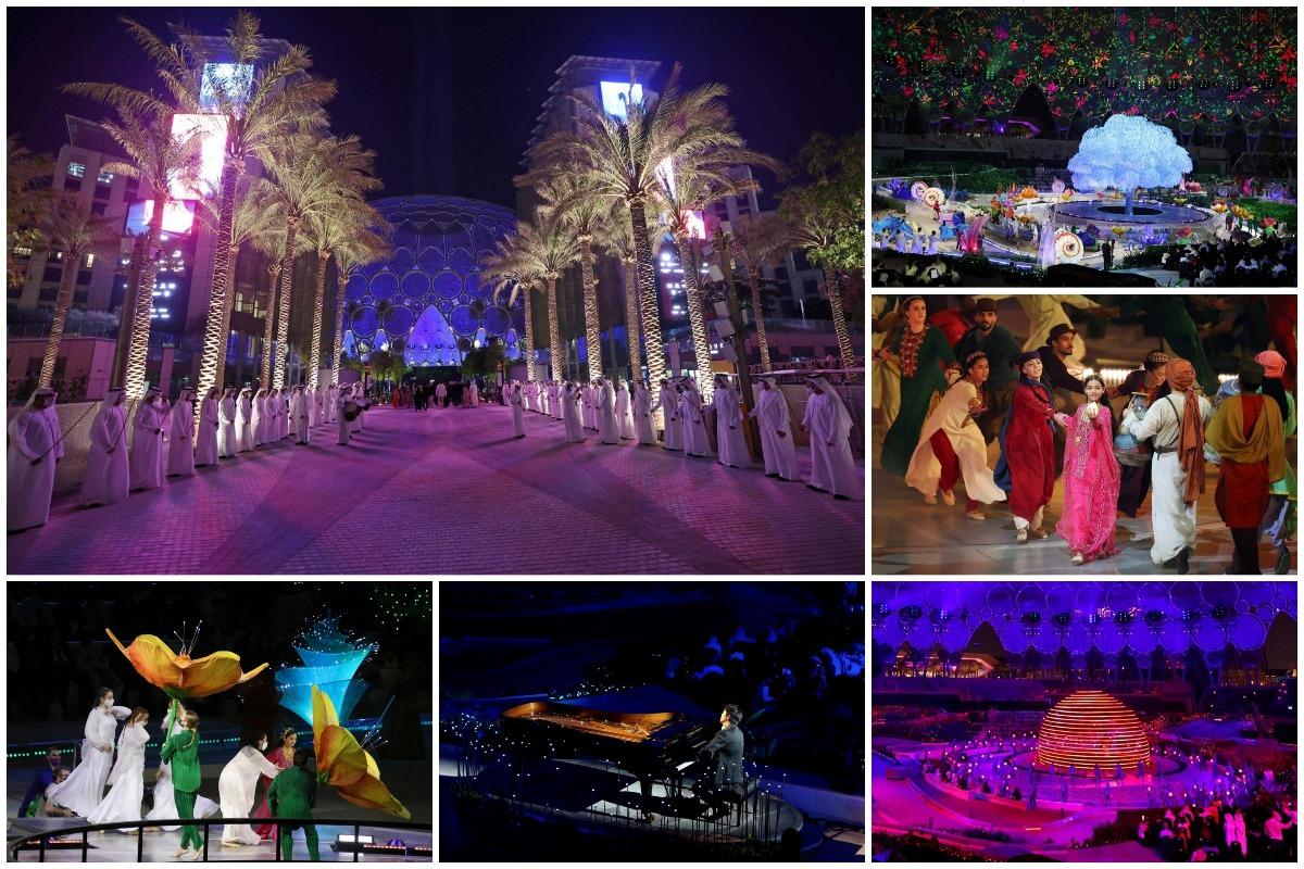 Открытие Dubai Expo 2020 в ОАЭ