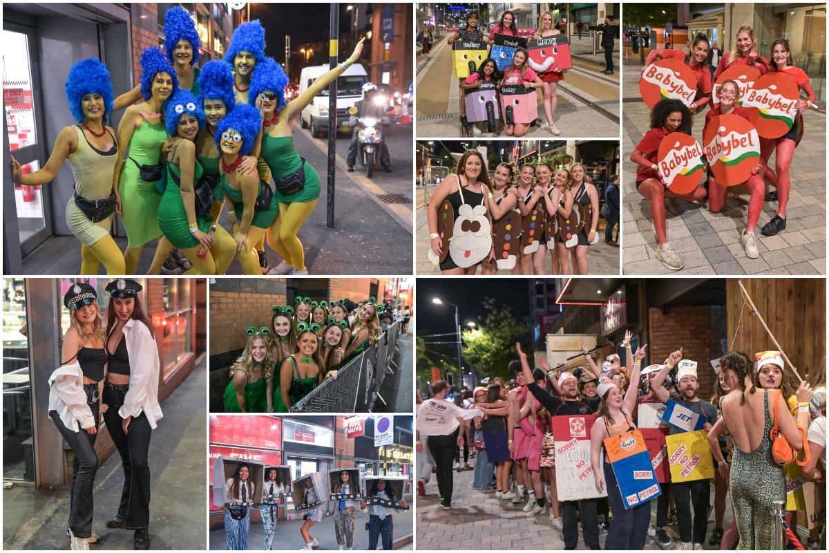 Британские студенты-медики устроили костюмированную вечеринку