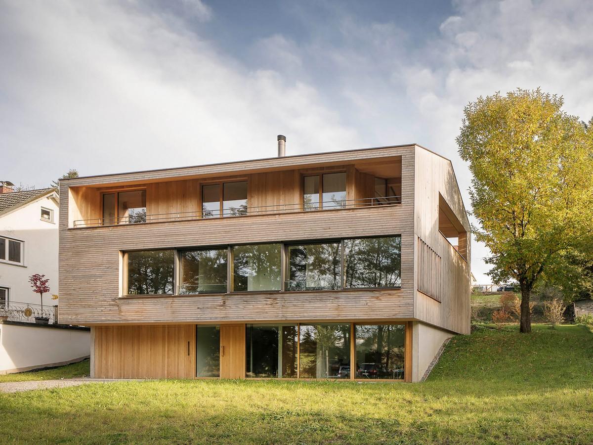 Экологичный дом в южной Германии