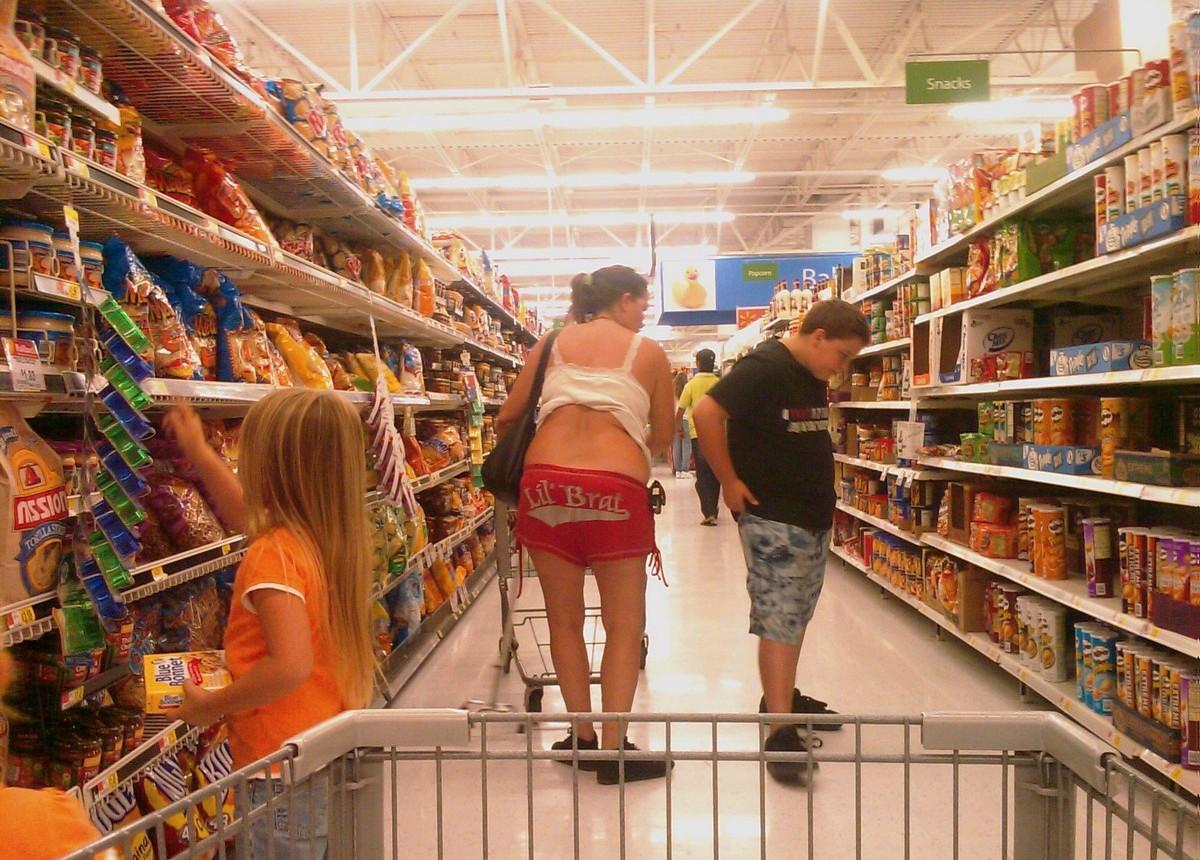 Экстравагантные покупатели Walmart (05.10.21)