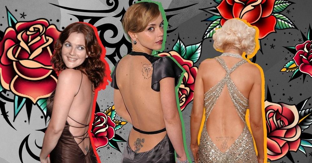 Популярные в 2000-х татуировки на пояснице вновь вернулись в моду в 2021 году