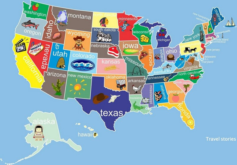 Географические факты о США