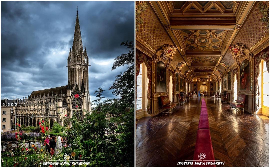 Архитектура и интерьеры на фотографиях Буирона Кристофа