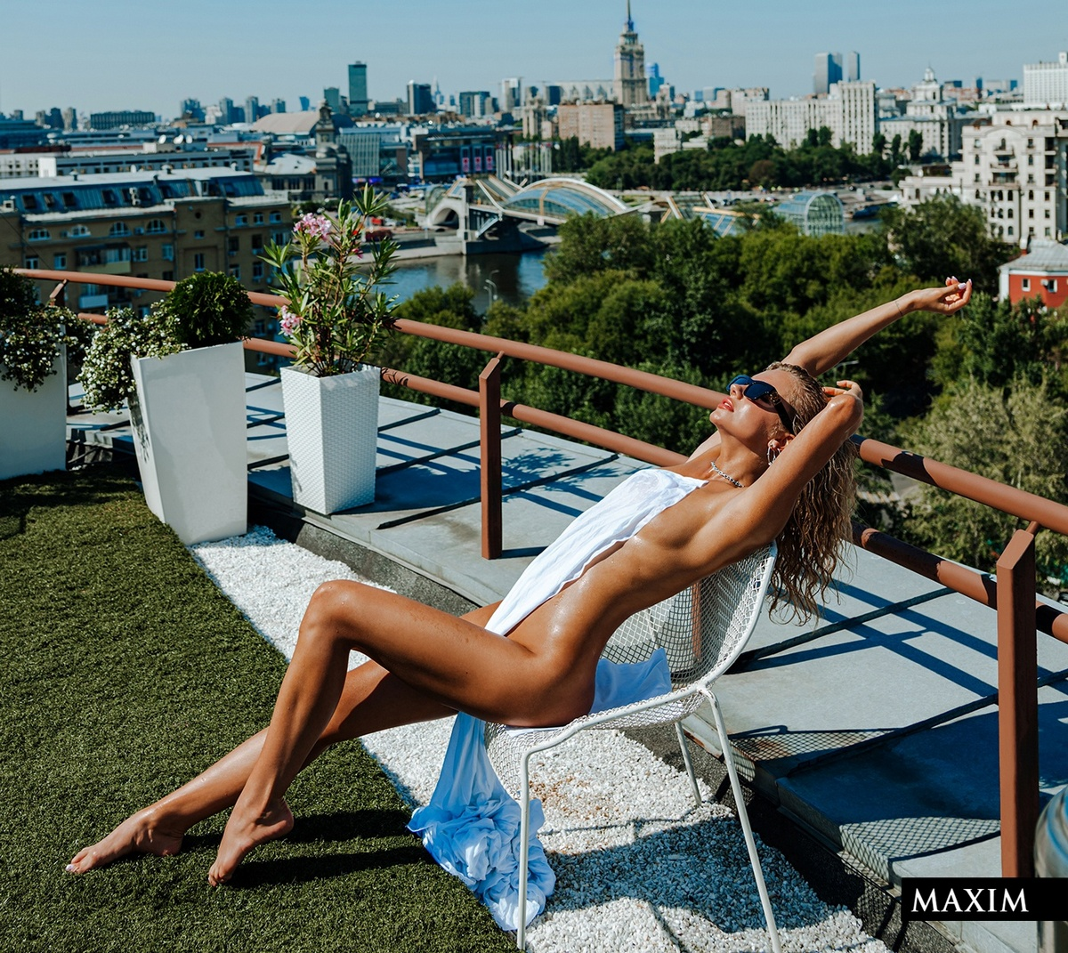 Екатерина Шкуро в журнале Maxim