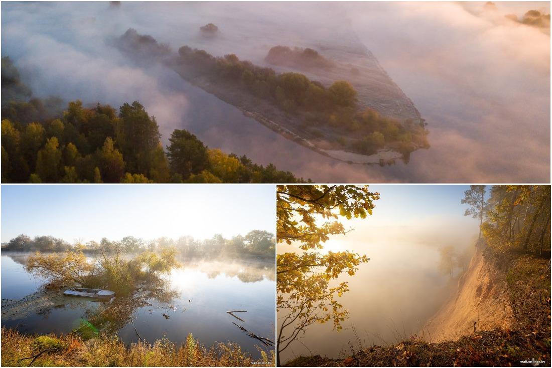 Красивое место для посещения: окрестности санатория «Приднепровский» на высоком берегу Днепра