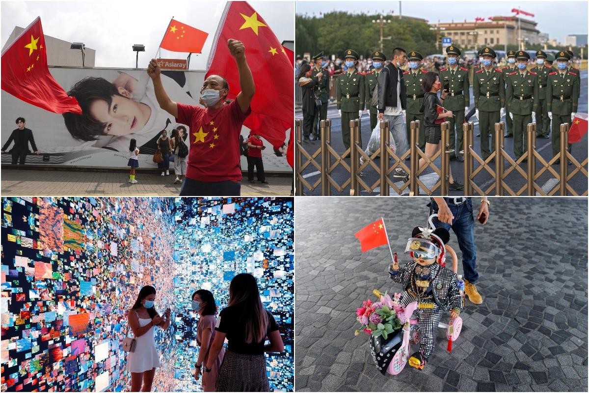 Октябрьская снимки из Китая
