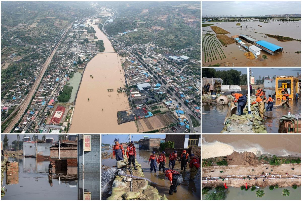 Миллионы пострадавших и десятки погибших: сильнейшее наводнение в Китае