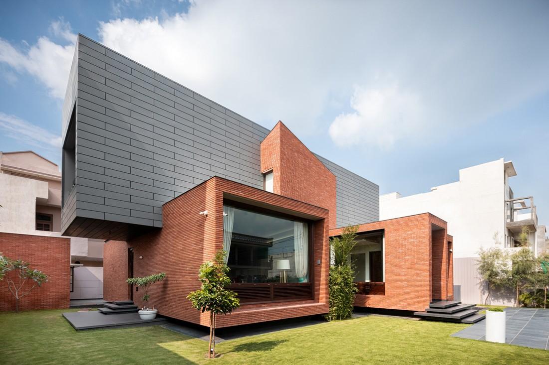 Двухэтажная резиденция в Индии