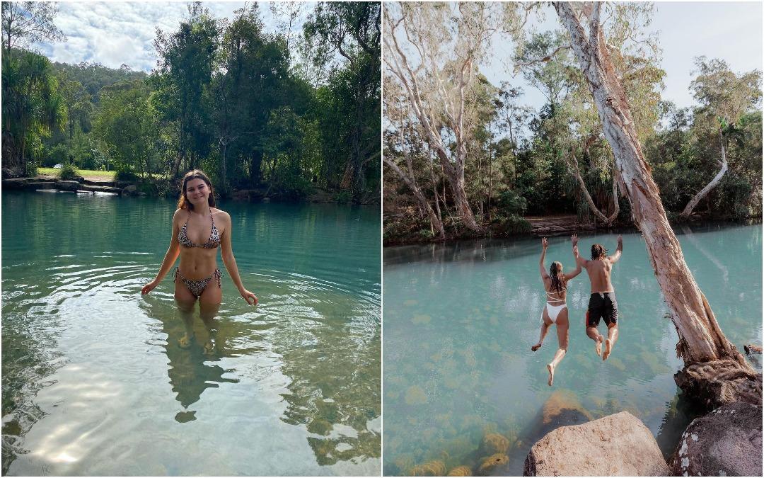 """Сверкающее лесное убежище: одно из самых """"недооцененных"""" природных мест для купания в Австралии"""
