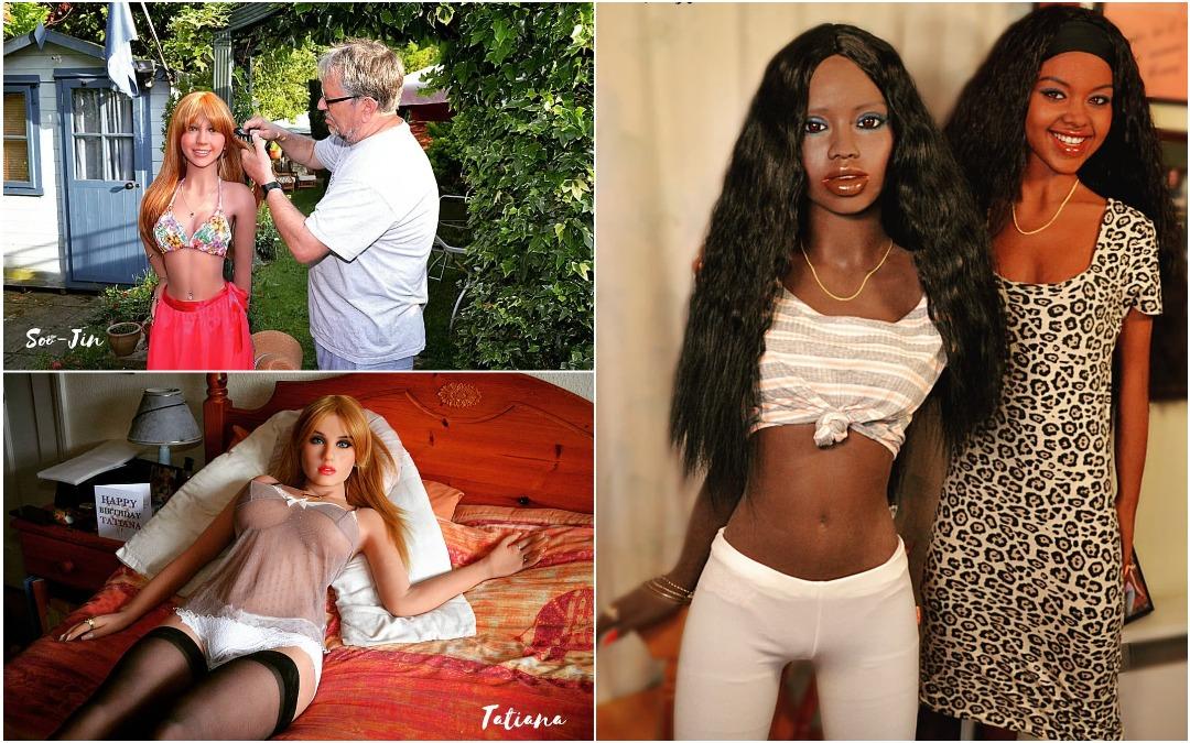 Коллекционер собрал отряд секс-кукол, и их регулярно принимают за настоящих женщин