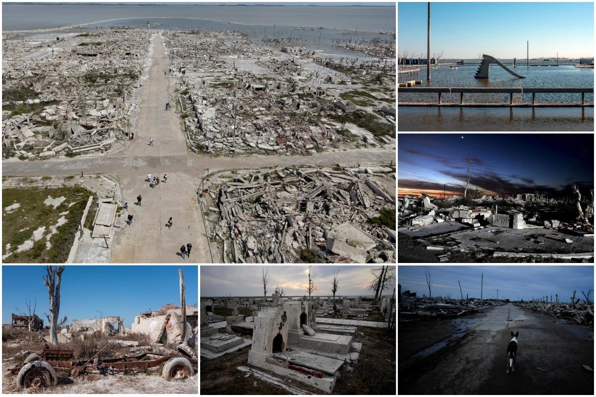 «Аргентинская Атлантида»: город Вилья-Эпекуэн, смытый озером, привлекает туристов