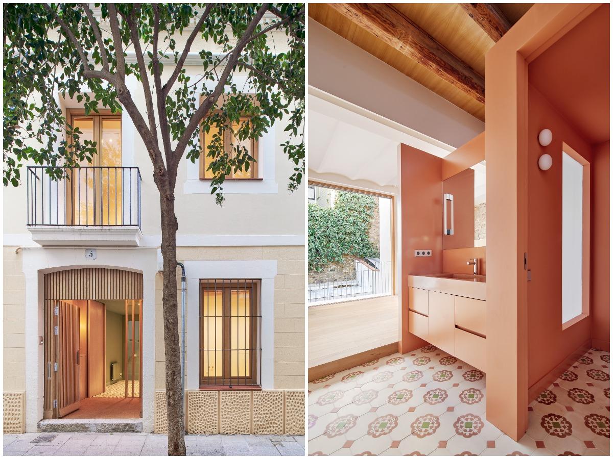 Реконструкция семейного дома в городе Барселона