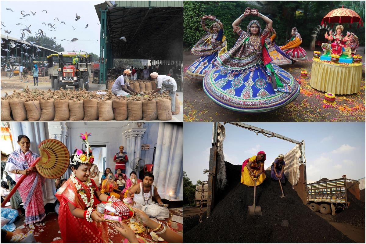 Октябрьские кадры из Индии