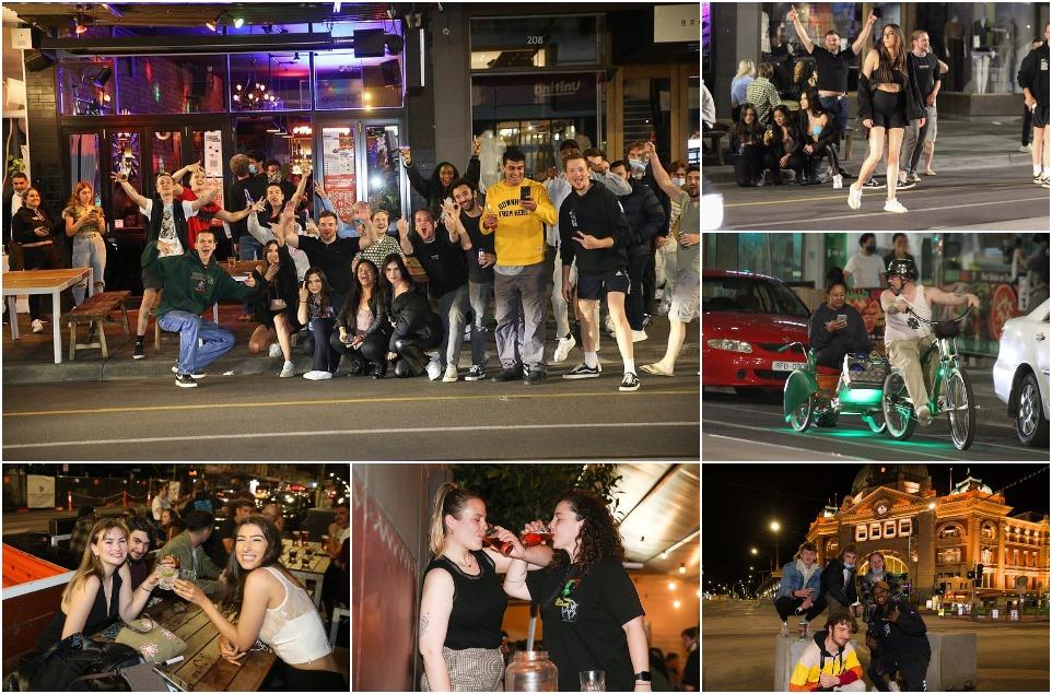 Мельбурн отпраздновал освобождение от самой продолжительной в мире блокировки, длящейся 262 дня