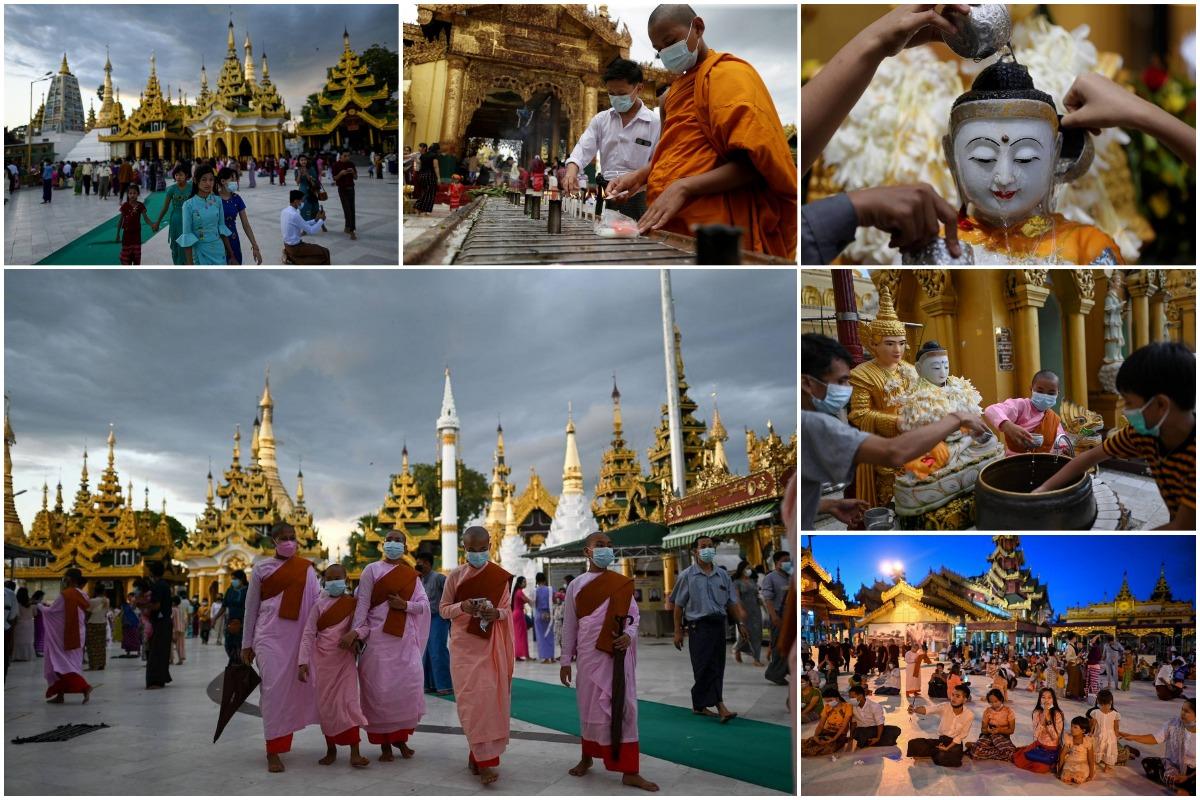 Фестиваль Тадингют в Мьянме