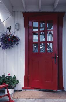 open-red-door