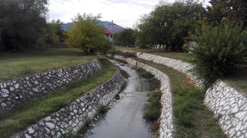 Река Кубршница.