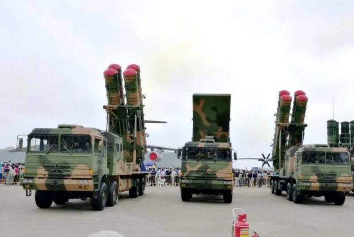 ФК-3, Китайская система ПВО