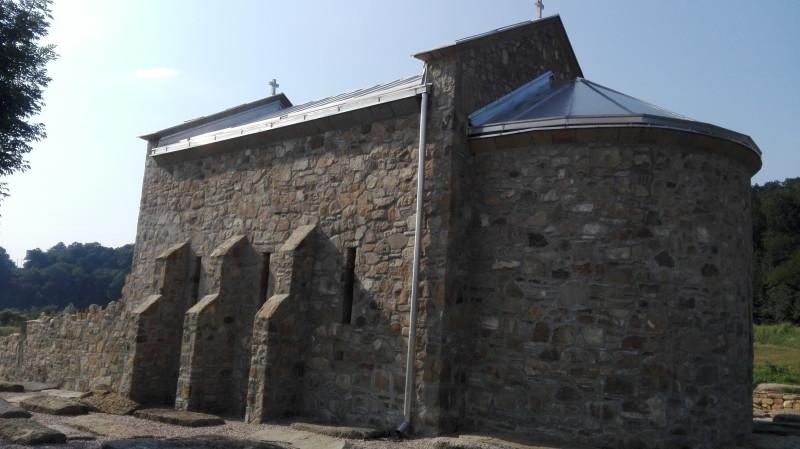 Црква Светог Јована у селу Дићи, тринаести век.