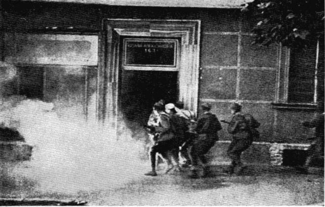 Борбе у Булевару Краља Александра.