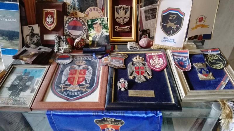 Посвећено Србима страдалим у отаџбинском рату од 1990-1995 и 1999 године.