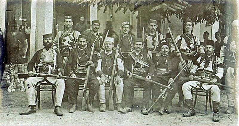 Српске војводе Старе Србије у Монастиру (Битољ) 1908.година.