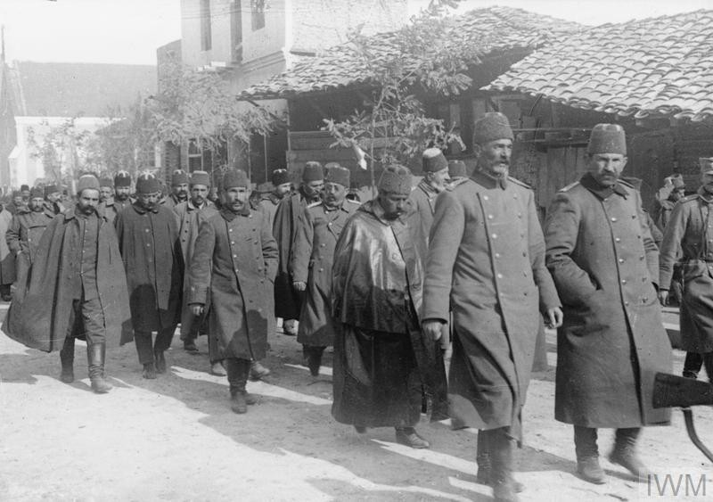 Заробљени турски војници.