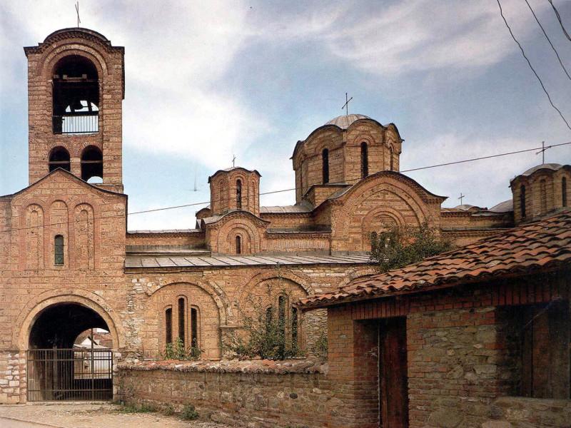 Црква Богородице љевишке у Призрену, задужбина краља Милутина. Црква је подигнута у периоду од 1306 до 1307.године.
