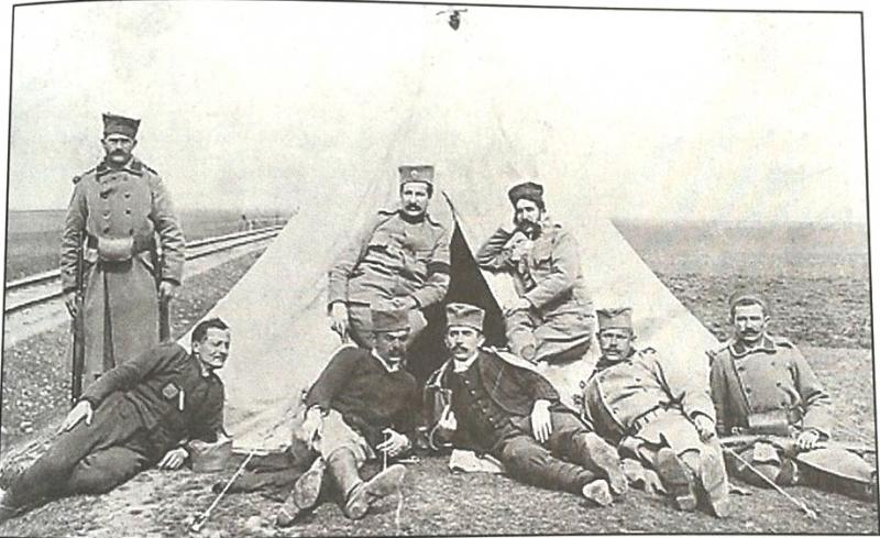 Српски војници у Липљану.
