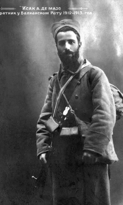 Војник Исак де Мајо, Србин Мојсијеве вере.