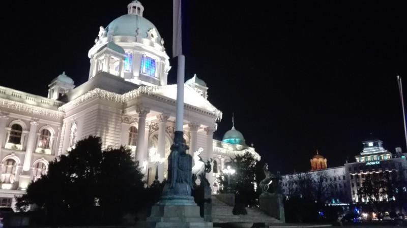 Промена светла на Скупштини