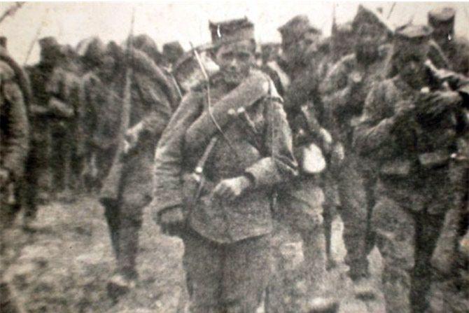 У маршу, Колубарска битка.